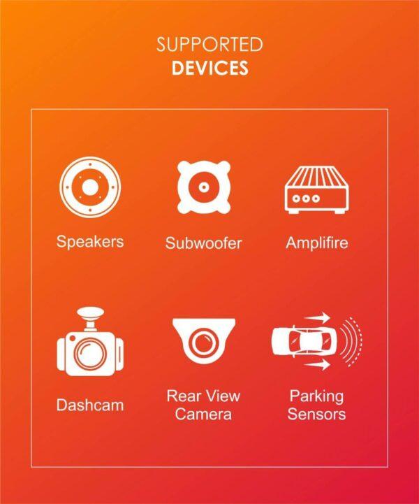 Woodman BIG B JEEP COMPASS (Octa Core - 4GB RAM/32GB ROM) Android Smart Car Stereo- 10 Inch HD Display