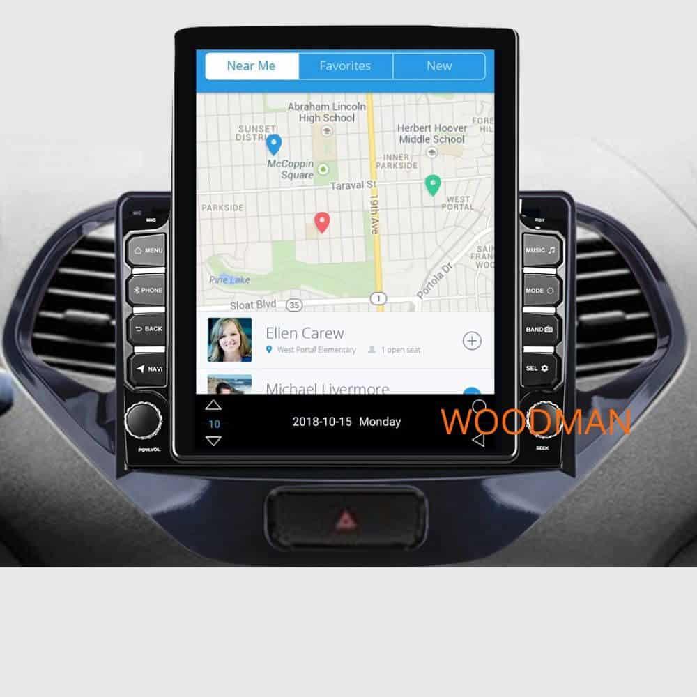 Woodman BIG B Comfort for Hyundai Xcent Android Music System (2 GB/ 16 GB)