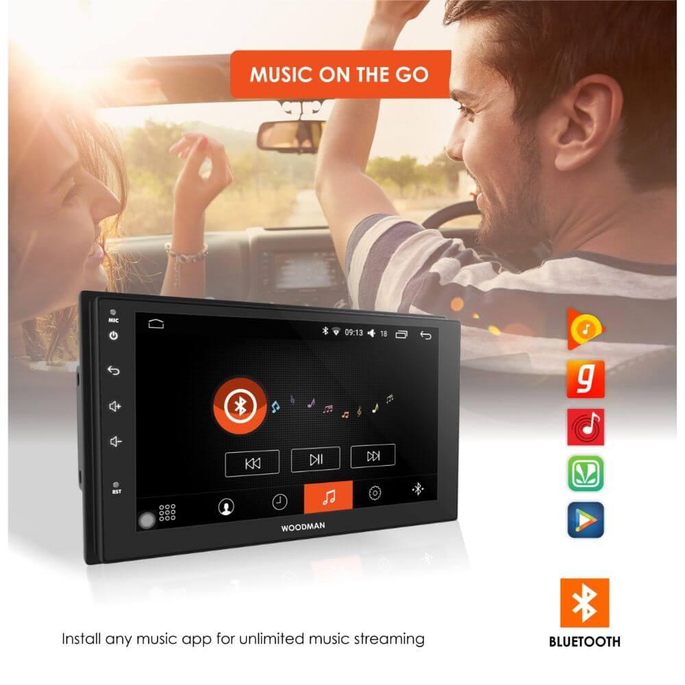Woodman BIG B Comfort for Mahindra TUV300 Android Music System (2 GB/ 16 GB)