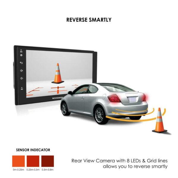 Woodman BIG B Gold Android Stereo for Volkswagon Polo/Vento/Skoda Rapid/Ameo/Passat (4G SIM SLOT/DSP) (2GB / 32GB)