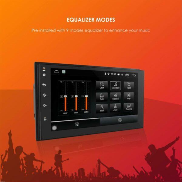 Woodman BIG B Comfort for Hyundai Verna Android Music System (2018- Present) (2 GB/ 16 GB)