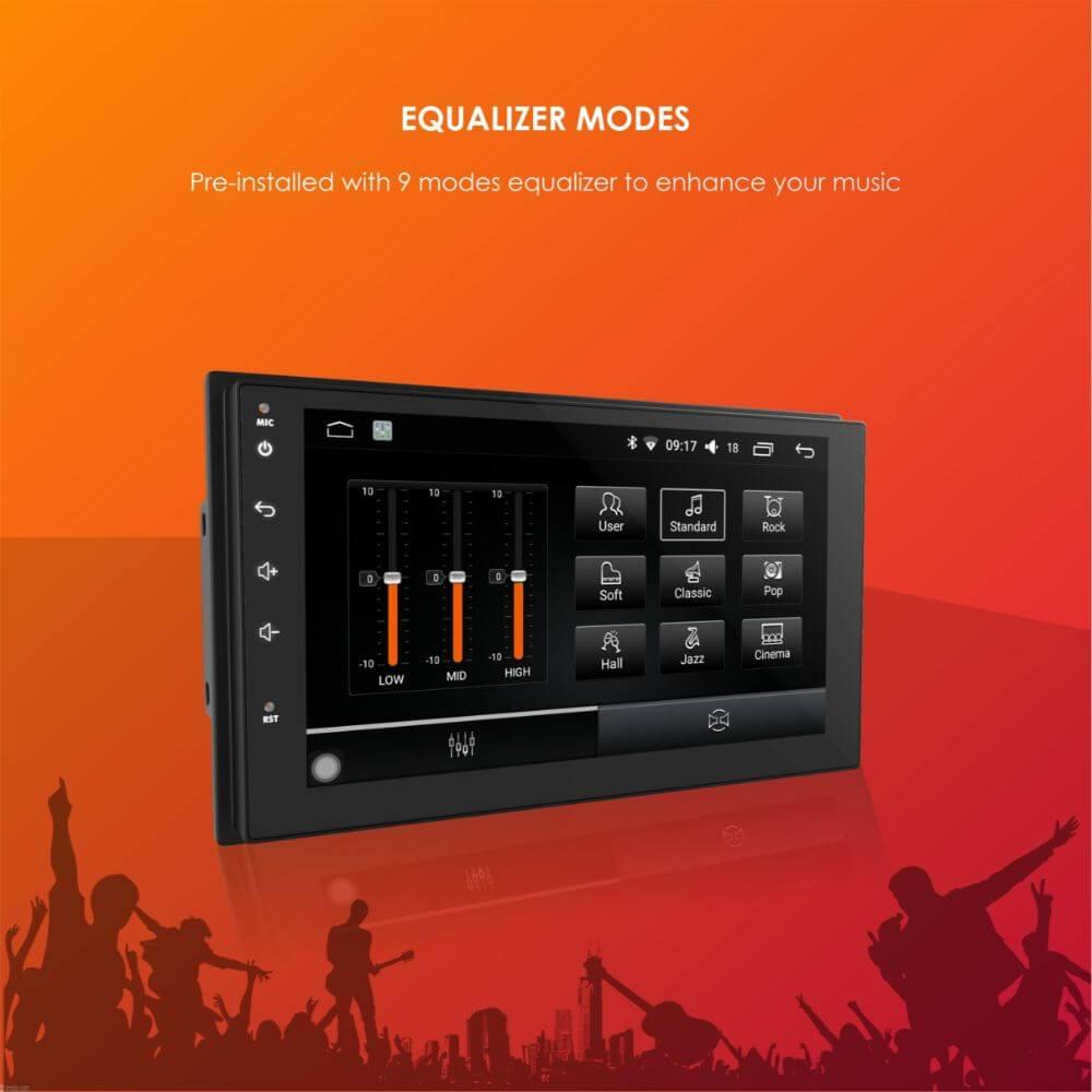 Woodman BIG B Comfort for Mahindra Marazzo Android Music System (2 GB/ 16 GB)