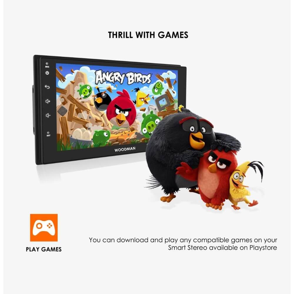 "Woodman BIG B Android Stereo for Maruti Swift Dzire / Swift (Type1) 9"" HD IPS Display & Gorilla Glass (2GB / 16GB)"