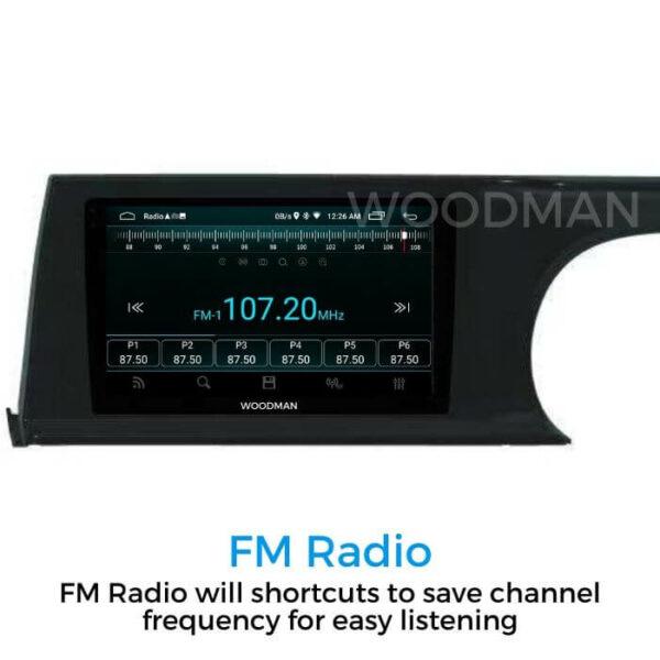 Woodman Big B Gold Android Kia Seltos 10 inch HD 4G SIM SLOT/DSP Dolby Sound) (2GB / 32GB)