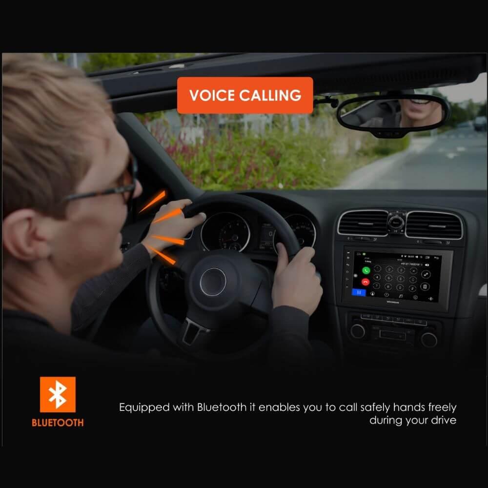 Woodman BIG B Gold Android Car Stereo for Honda New Civic- 9 Inch (4G SIM SLOT/DSP) (2GB /32GB)