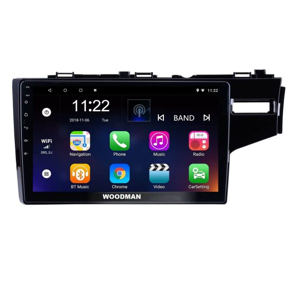 Woodman BIG B Comfort Android 8.1 Stereo for Honda New Jazz 9 inch HD Display (2GB / 16 GB)